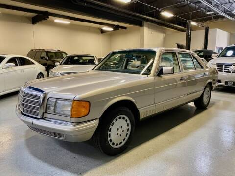 1985 Mercedes-Benz S-Class for sale at Motorgroup LLC in Scottsdale AZ