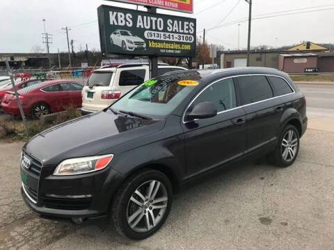2007 Audi Q7 for sale at KBS Auto Sales in Cincinnati OH