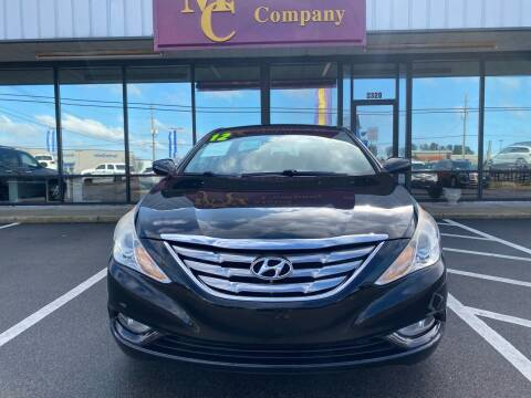 2012 Hyundai Sonata for sale at Greenville Motor Company in Greenville NC
