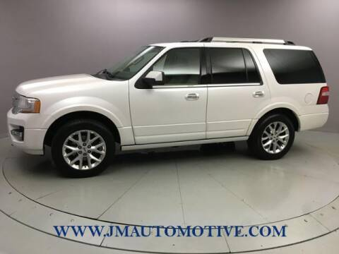 2017 Ford Expedition for sale at J & M Automotive in Naugatuck CT