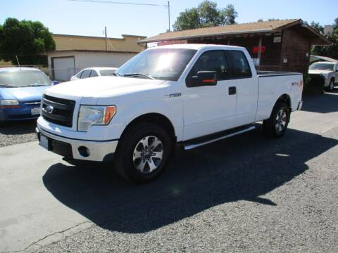 2013 Ford F-150 for sale at Manzanita Car Sales in Gridley CA