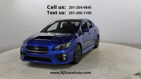 2016 Subaru WRX for sale at NJ State Auto Used Cars in Jersey City NJ