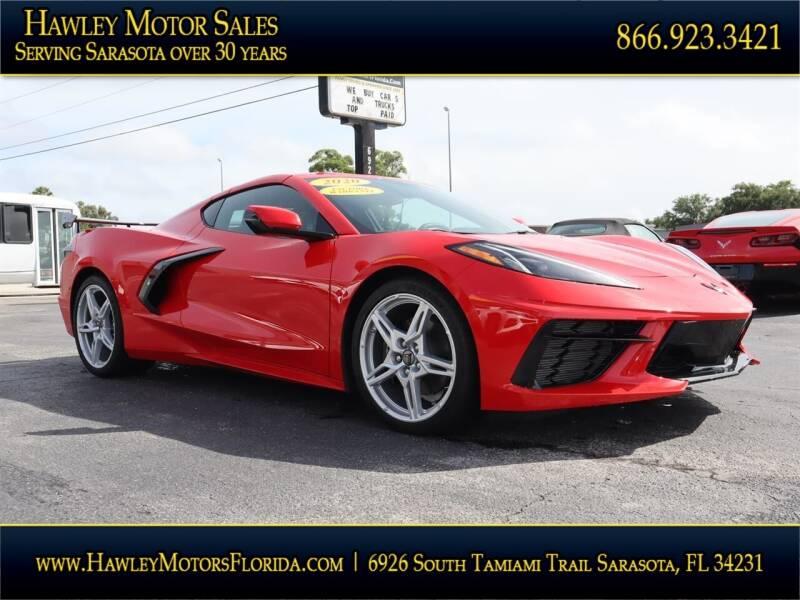 2020 Chevrolet Corvette for sale at Hawley Motor Sales in Sarasota FL