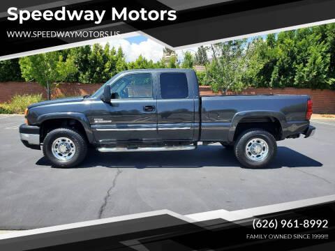 2003 Chevrolet Silverado 2500HD for sale at Speedway Motors in Glendora CA
