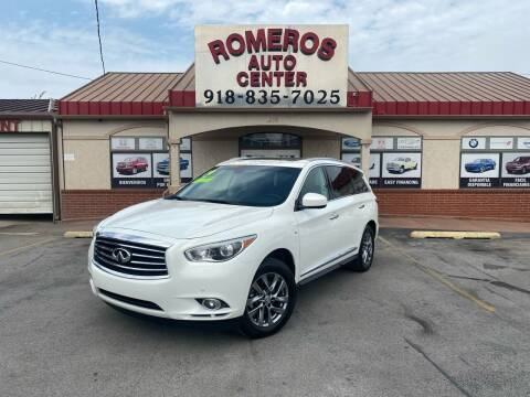 2014 Infiniti QX60 for sale at Romeros Auto Center in Tulsa OK