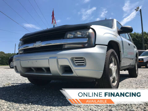 2007 Chevrolet TrailBlazer for sale at Prime One Inc in Walkertown NC