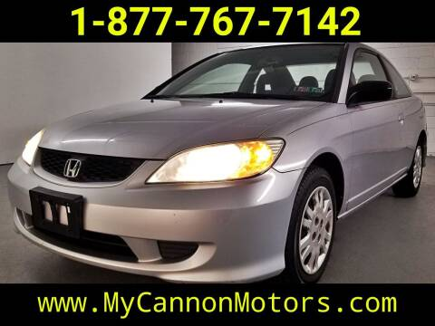 2004 Honda Civic for sale at Cannon Motors in Silverdale PA