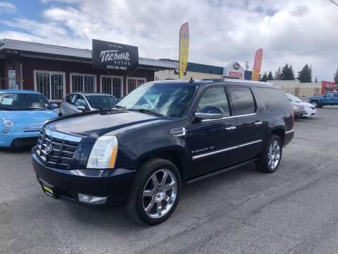 2007 Cadillac Escalade ESV for sale at Tacoma Autos LLC in Tacoma WA