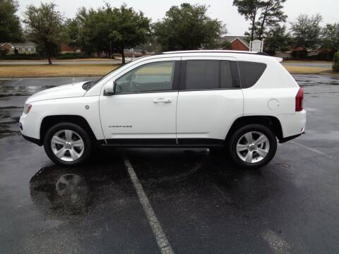 2014 Jeep Compass for sale at BALKCUM AUTO INC in Wilmington NC