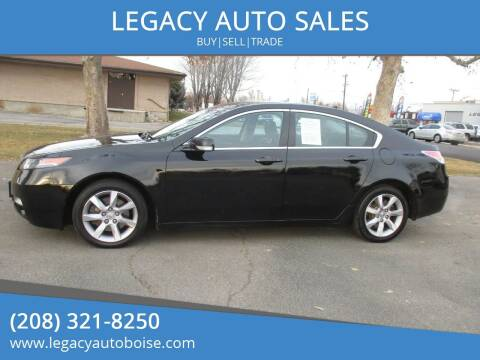 2013 Acura TL for sale at LEGACY AUTO SALES in Boise ID