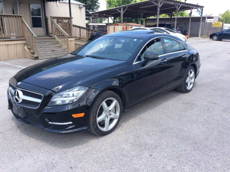 2013 Mercedes-Benz CLS for sale at OASIS PARK & SELL in Spring TX