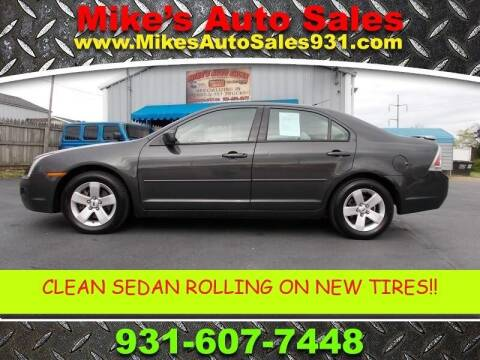 2007 Ford Fusion for sale at Mike's Auto Sales in Shelbyville TN