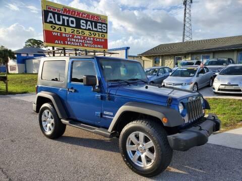 2010 Jeep Wrangler for sale at Mox Motors in Port Charlotte FL