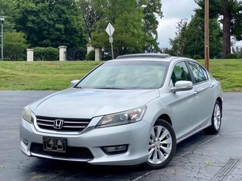 2013 Honda Accord for sale at Sebar Inc. in Greensboro NC
