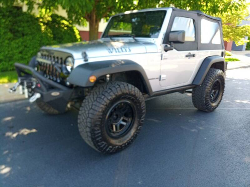 2014 Jeep Wrangler for sale at Northeast Auto Sale in Wickliffe OH
