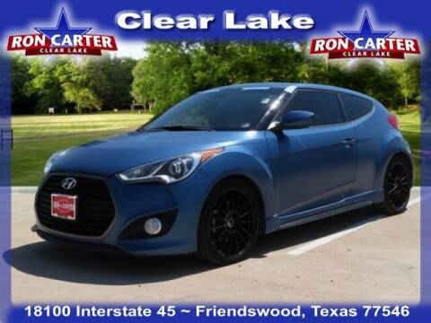 2016 Hyundai Veloster for sale at Ron Carter  Clear Lake Used Cars in Houston TX