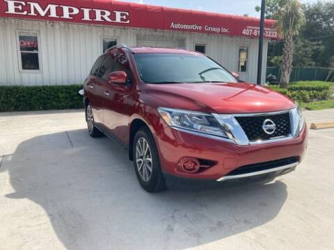 2015 Nissan Pathfinder for sale at Empire Automotive Group Inc. in Orlando FL