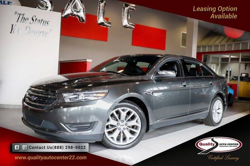 2017 Ford Taurus for sale at Quality Auto Center in Springfield NJ