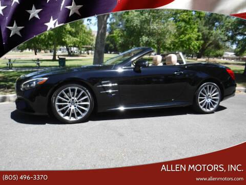 2017 Mercedes-Benz SL-Class for sale at Allen Motors, Inc. in Thousand Oaks CA