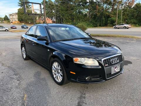 2008 Audi A4 for sale at ATLANTA AUTO WAY in Duluth GA