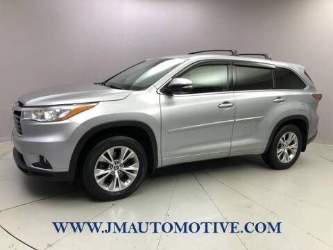2016 Toyota Highlander for sale at J & M Automotive in Naugatuck CT