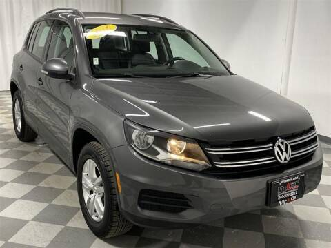 2016 Volkswagen Tiguan for sale at Mr. Car City in Brentwood MD