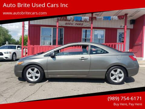 2007 Honda Civic for sale at Auto Brite Used Cars Inc in Saginaw MI