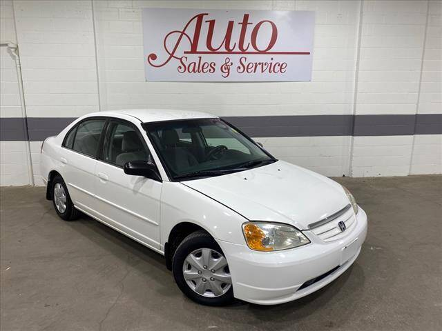 2002 Honda Civic for sale at Auto Sales & Service Wholesale in Indianapolis IN