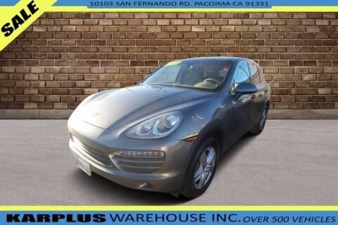 2014 Porsche Cayenne for sale at Karplus Warehouse in Pacoima CA