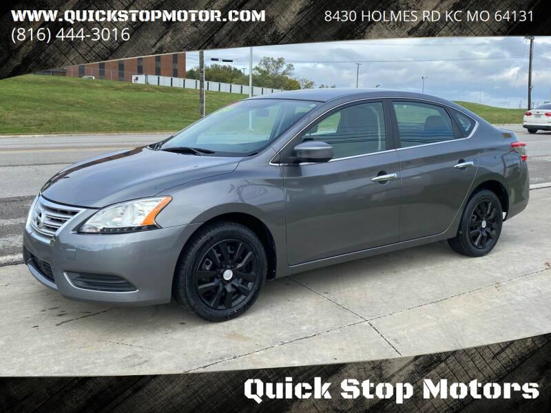 2015 Nissan Sentra for sale at Quick Stop Motors in Kansas City MO