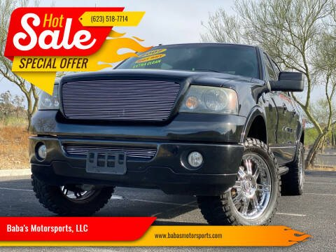 2007 Ford F-150 for sale at Baba's Motorsports, LLC in Phoenix AZ