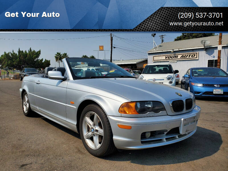 2002 BMW 3 Series for sale at Get Your Auto in Ceres CA