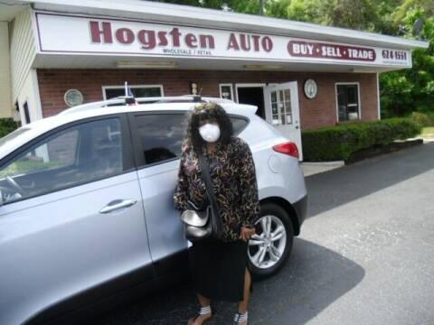 2011 Hyundai Tucson for sale at HOGSTEN AUTO WHOLESALE in Ocala FL