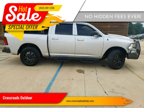 2016 RAM Ram Pickup 1500 for sale at Crossroads Outdoor in Corinth MS