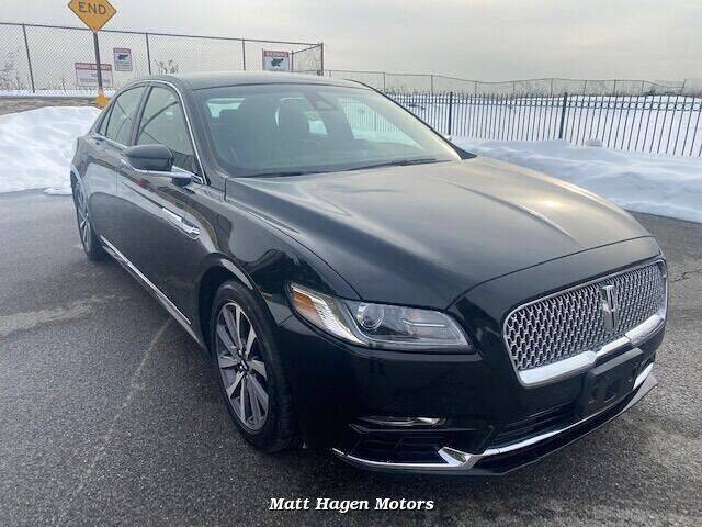 2017 Lincoln Continental for sale at Matt Hagen Motors in Newport NC