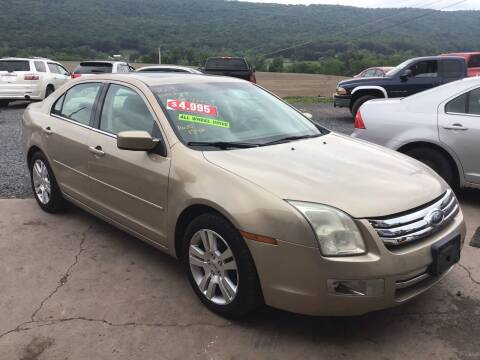 2008 Ford Fusion for sale at Troys Auto Sales in Dornsife PA