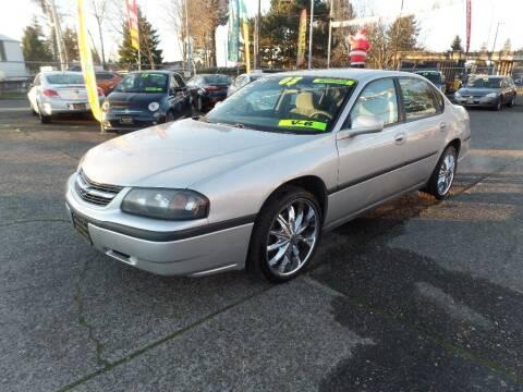 2003 Chevrolet Impala for sale at Gold Key Motors in Centralia WA