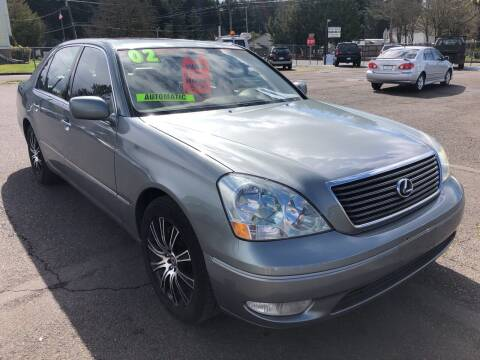 2002 Lexus LS 430 for sale at Freeborn Motors in Lafayette, OR