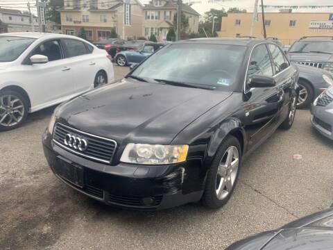 2004 Audi A4 for sale at Park Avenue Auto Lot Inc in Linden NJ