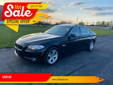 2012 BMW 5 Series for sale at CARLUX in Fortville IN
