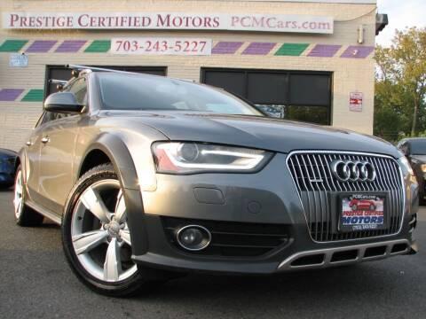 2013 Audi Allroad for sale at Prestige Certified Motors in Falls Church VA