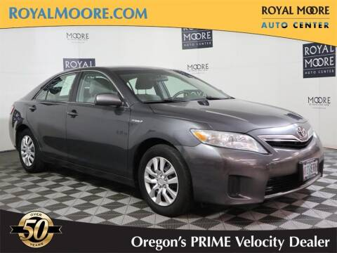 2011 Toyota Camry Hybrid for sale at Royal Moore Custom Finance in Hillsboro OR