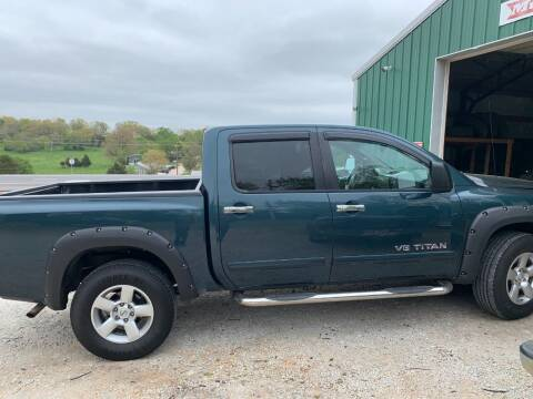 2007 Nissan Titan for sale at Steve's Auto Sales in Harrison AR