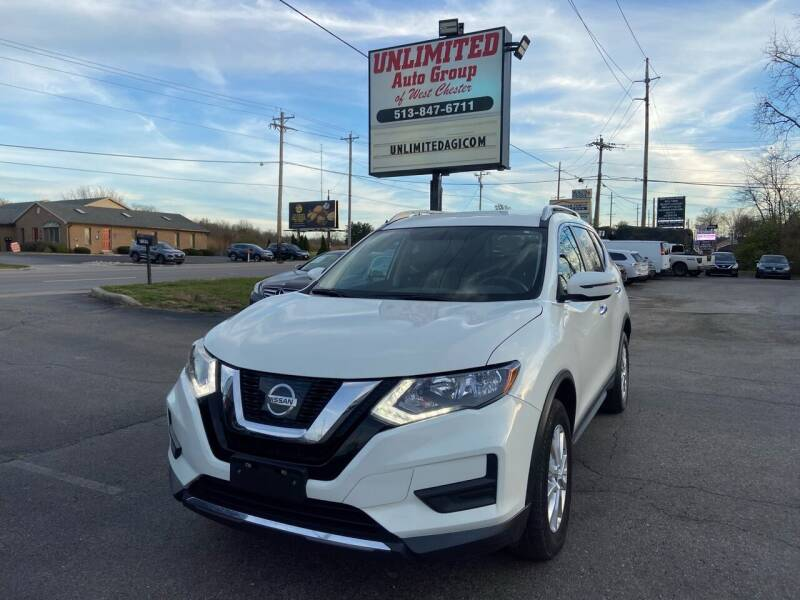 2017 Nissan Rogue for sale at Unlimited Auto Group in West Chester OH
