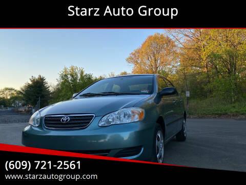 2006 Toyota Corolla for sale at Starz Auto Group in Delran NJ