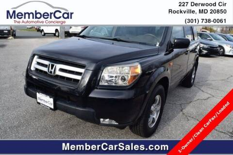2006 Honda Pilot for sale at MemberCar in Rockville MD