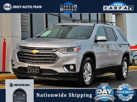 2018 Chevrolet Traverse for sale at INDY AUTO MAN in Indianapolis IN