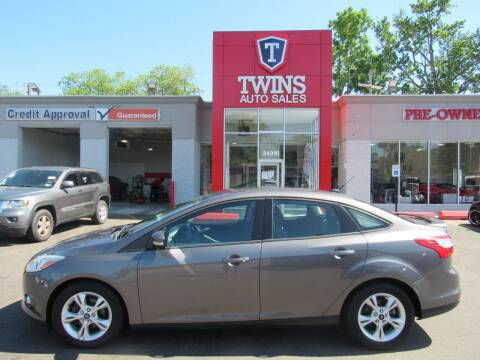 2012 Ford Focus for sale at Twins Auto Sales Inc in Detroit MI