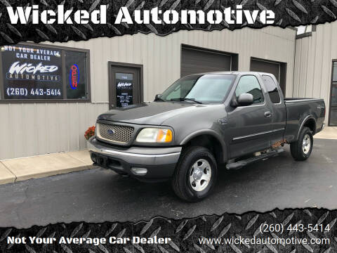 2003 Ford F-150 for sale at Wicked Automotive in Fort Wayne IN