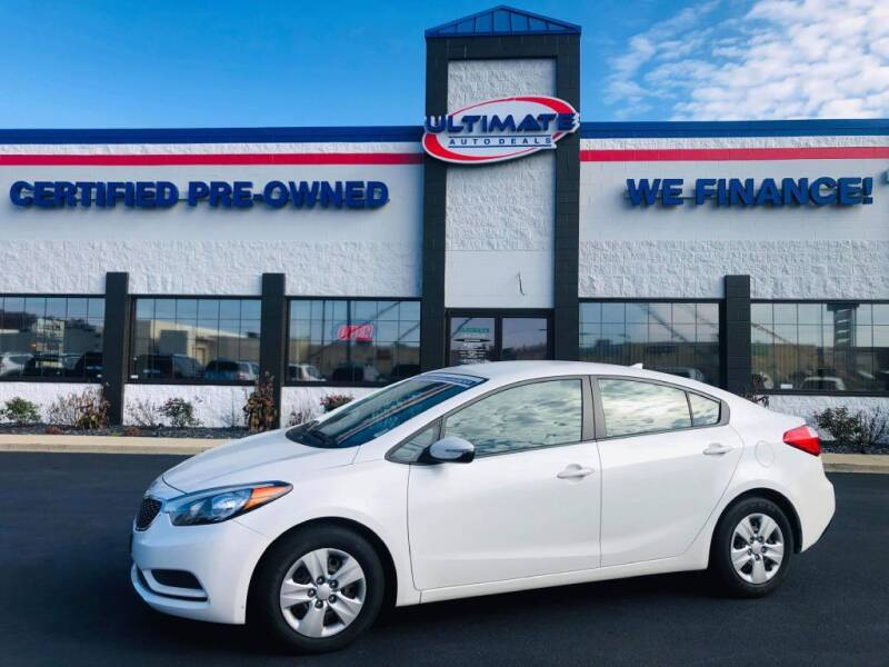 2016 Kia Forte for sale at Ultimate Auto Deals in Fort Wayne IN